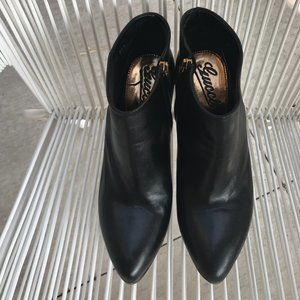 Gucci BLACK Booties Ankle Boots Zip Up BOOTIES